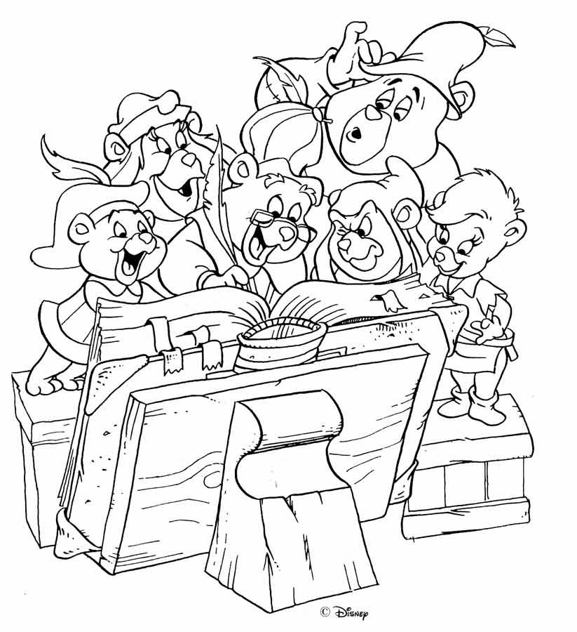 gummy bear song coloring pages - the great site of gummi