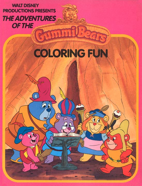 gummi bears coloring pages.html